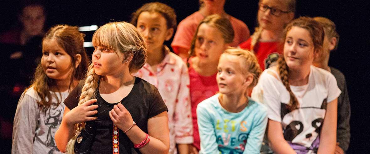 Dans voorstelling Communicatiedans